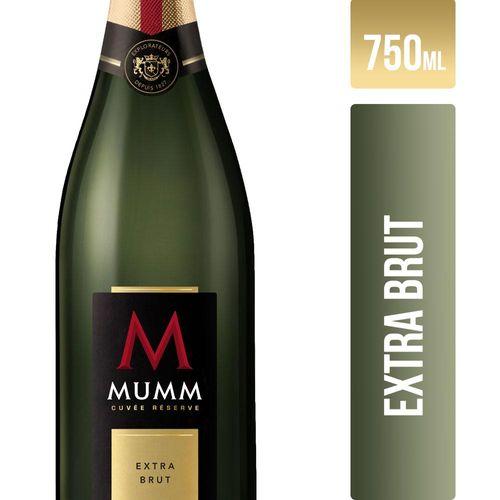 Champaña Mumm Cuvee Extra Brut 750 Cc