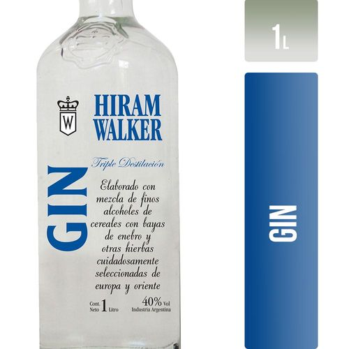 Gin Hiram Walker Dry 1 L