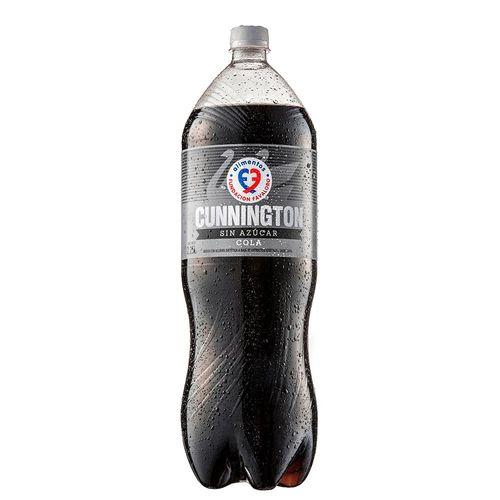 Gaseosa Cola Cunnington Sin Azucar 2250cc