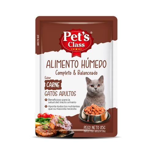 Humedo Pets Class Para Gato Adulto Carne X 85g