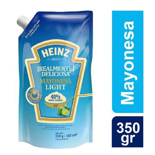 Mayonesa Heinz Light Doy-pack X350gr