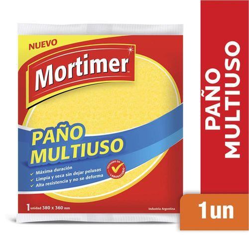 Paño Mortimer Multiuso Amarillo