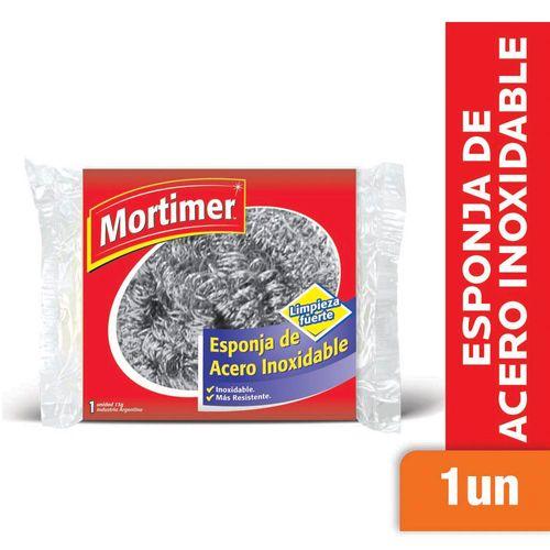 Esponja Mortimer Plateada