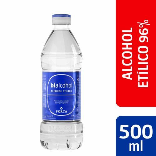 Alcohol Fino Porta Puro 500 Ml