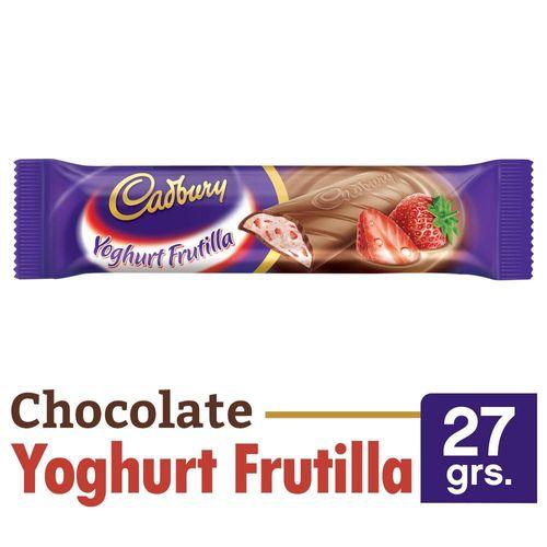 Chocolate Cadbury Yoghurt Frutilla 27 Gr