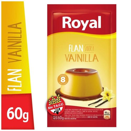 Flan Royal Vainilla 60 Gr