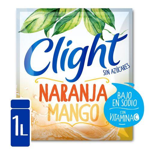 Jugo En Polvo Clight Naranja - Mango 8.5 Gr
