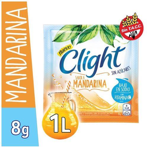 Jugo En Polvo Clight Mandarina 8 Gr