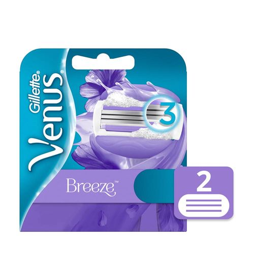Cartuchos Para Afeitar Gillette Venus Breeze 2 U