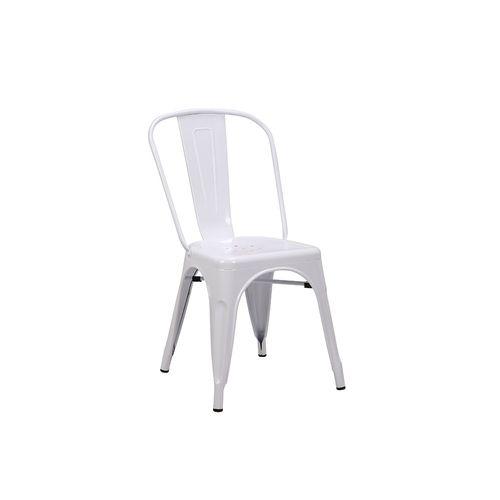 Silla Spot Blanco 45 X 54 X 83,5 Cm M+design