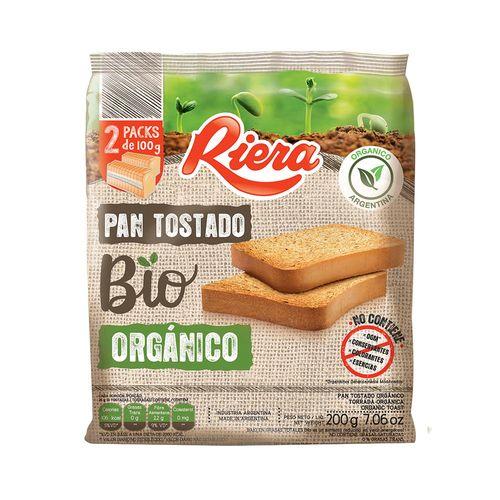 Pan Tostado Bio Organico 200 Gr