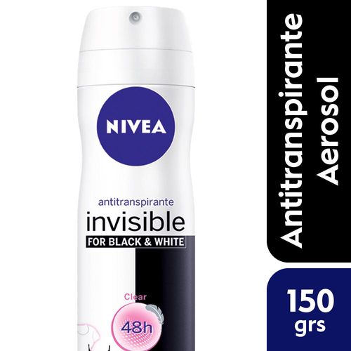 Desodorante Femenino Antitranspirante Nivea Black & White 150 Ml