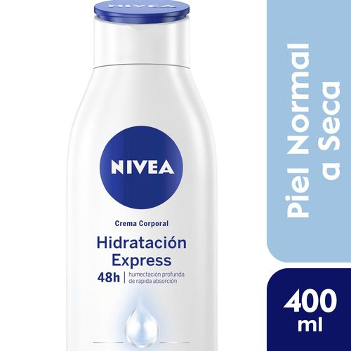 Crema Corporal Nivea Hidratante Body Lotion 400 Ml