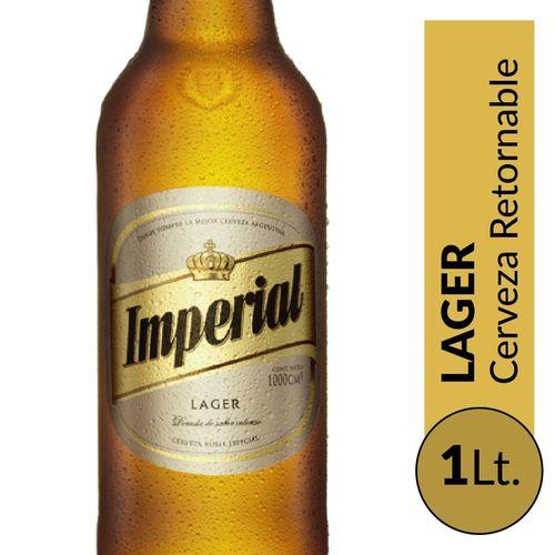 Cerveza Imperial Rubia 1lt