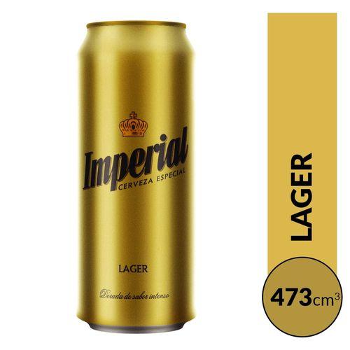Cerveza Imperial Rubia 473cc Lata