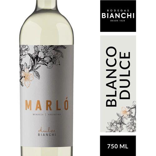 Vino Bianchi Marló Dulce 750 Cc