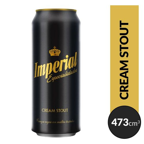 Cerveza Imperial Stout 473cc Lata