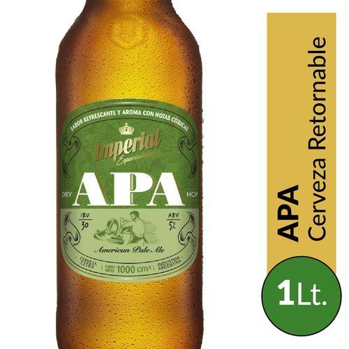 Cerveza Imperial Apa 1lt