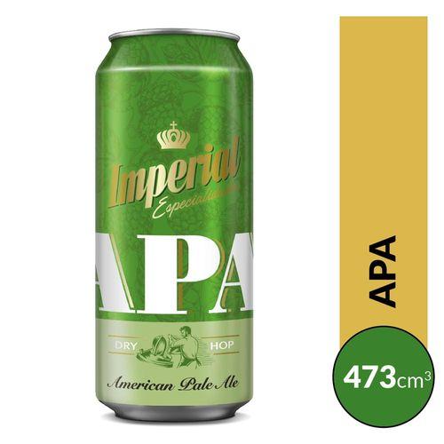 Cerveza Imperial Apa 473cc Lata