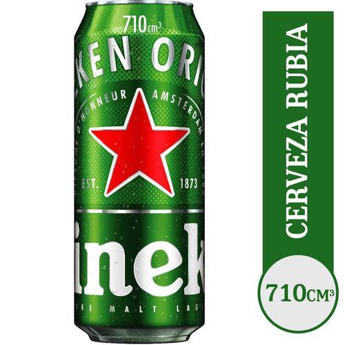 Cerveza Heineken Premiun 710 Cc