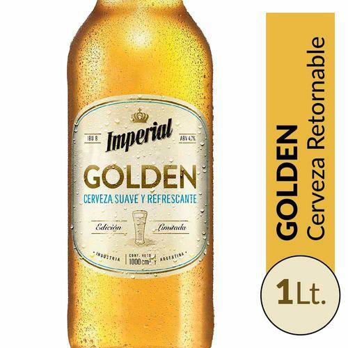 Cerveza Imperial Golden 1lt