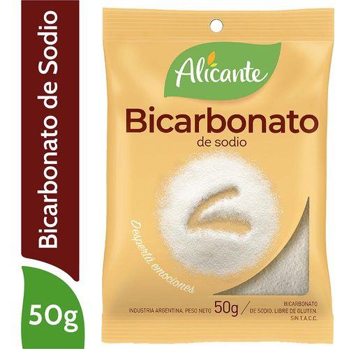 Bicarbonato De Sodio Alicante 50 Gr