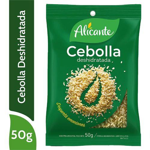 Cebolla Deshidratada Aliacnte 50 Gr