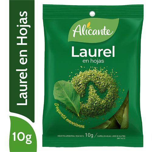 Laurel Alicante En Hojas 10 Gr