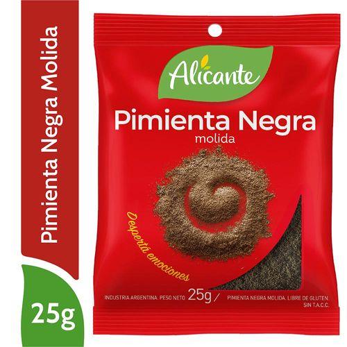 Pimienta Negra Alicante Molida 25 Gr