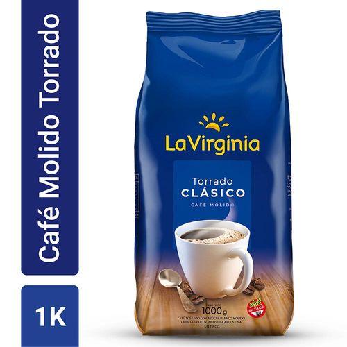 Café La Virginia Molido Equilibrado 1 Kg