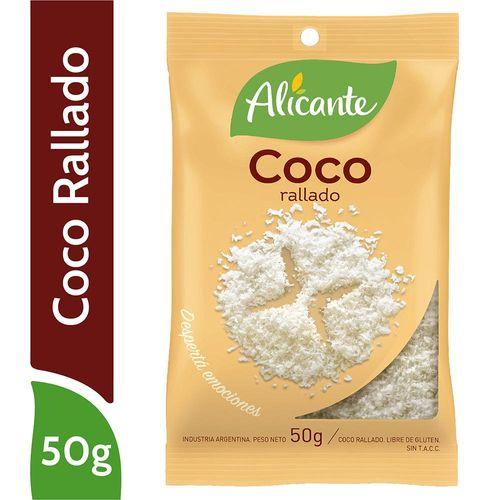 Coco Rallado Alicante 50 Gr