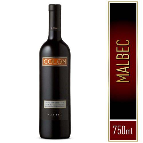 Vino Tinto Colón Malbec 750 Cc