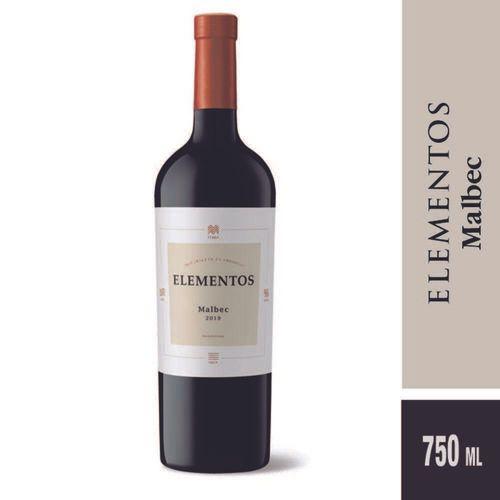 Vino Tinto Elementos Malbec 750 Cc