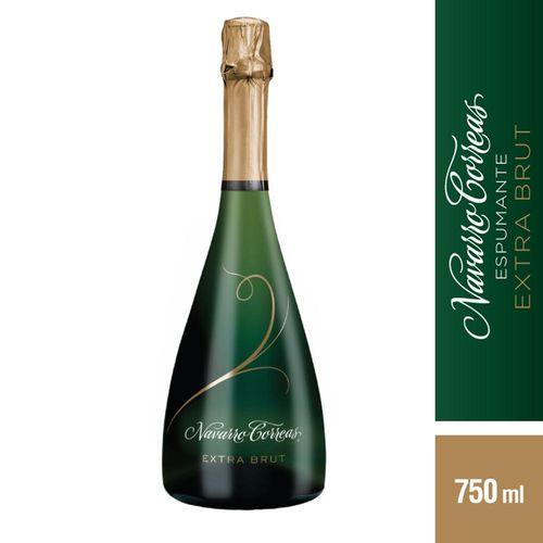 Champaña Navarro Correas Extra Brut 750 Cc