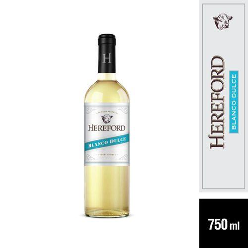 Vino Blanco Dulce Hereford 750 Cc