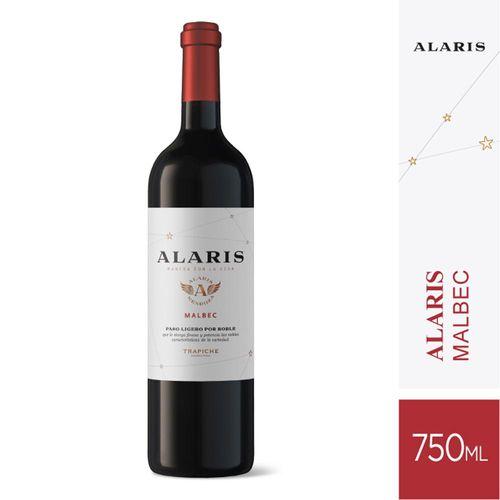 Vino Tinto Alaris Malbec 750 Cc