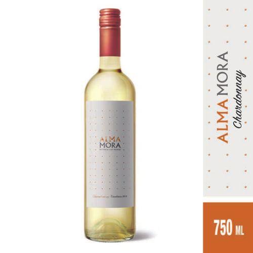 Vino Blanco Alma Mora Chardonnay 750 Cc