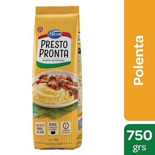 Harina De Maíz Presto Pronta 750 Gr