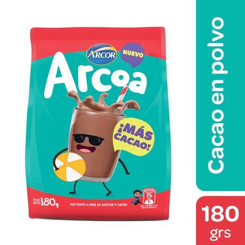 Cacao En Polvo Arcoa 180 Gr