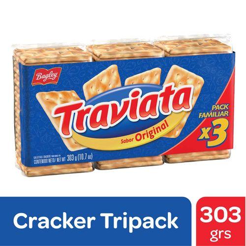 Galletitas De Agua Traviata 303 Gr