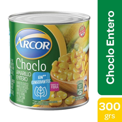 Choclo Amarillo Arcor - 300 Gr