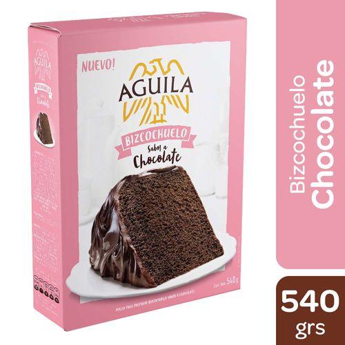 Bizcochuelo Aguila Chocolate 540 Gr