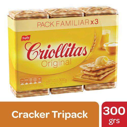 Galletitas De Agua Criollitas Originales 300 Gr