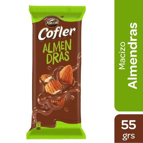 Chocolate Cofler Con Almendras 55 Gr