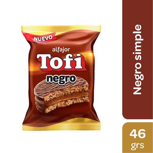 Alfajor Tofi Negro 46 Gr