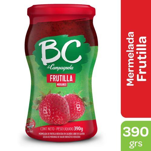 Mermelada Bc La Campagnola Frutilla 390 Gr