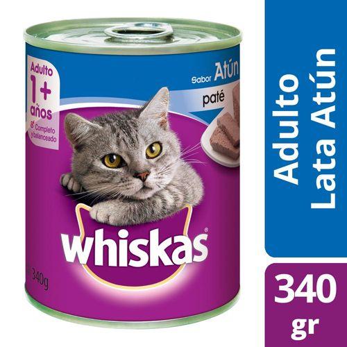 Alimento Para Gatos Whiskas Pasta Atún 340 Gr