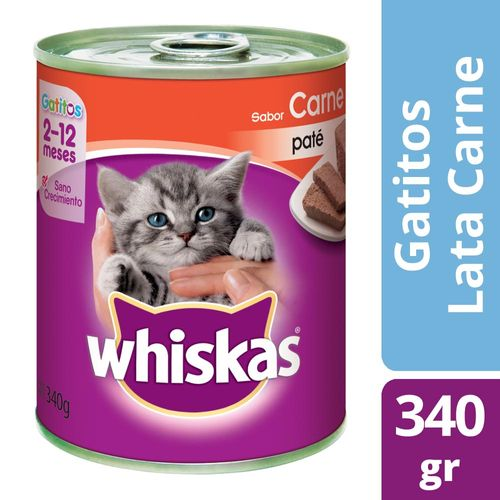 Alimento Para Gatos Whiskas Pasta Gatitos 340 Gr