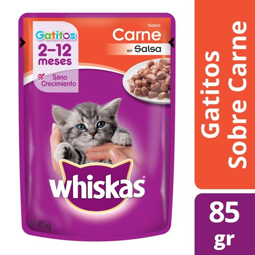 Alimento Para Gatos Whiskas Pasta Gatitos 85 Gr