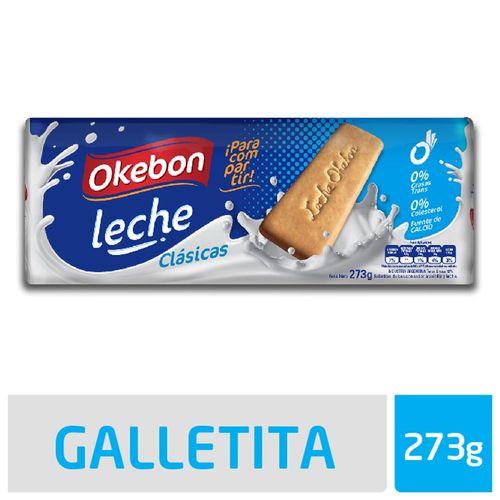 Galletitas Okebon Leche Clásicas 273 Gr